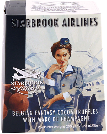 Starbrook Cocoa Dusted Truffles-Champagne 7.0oz