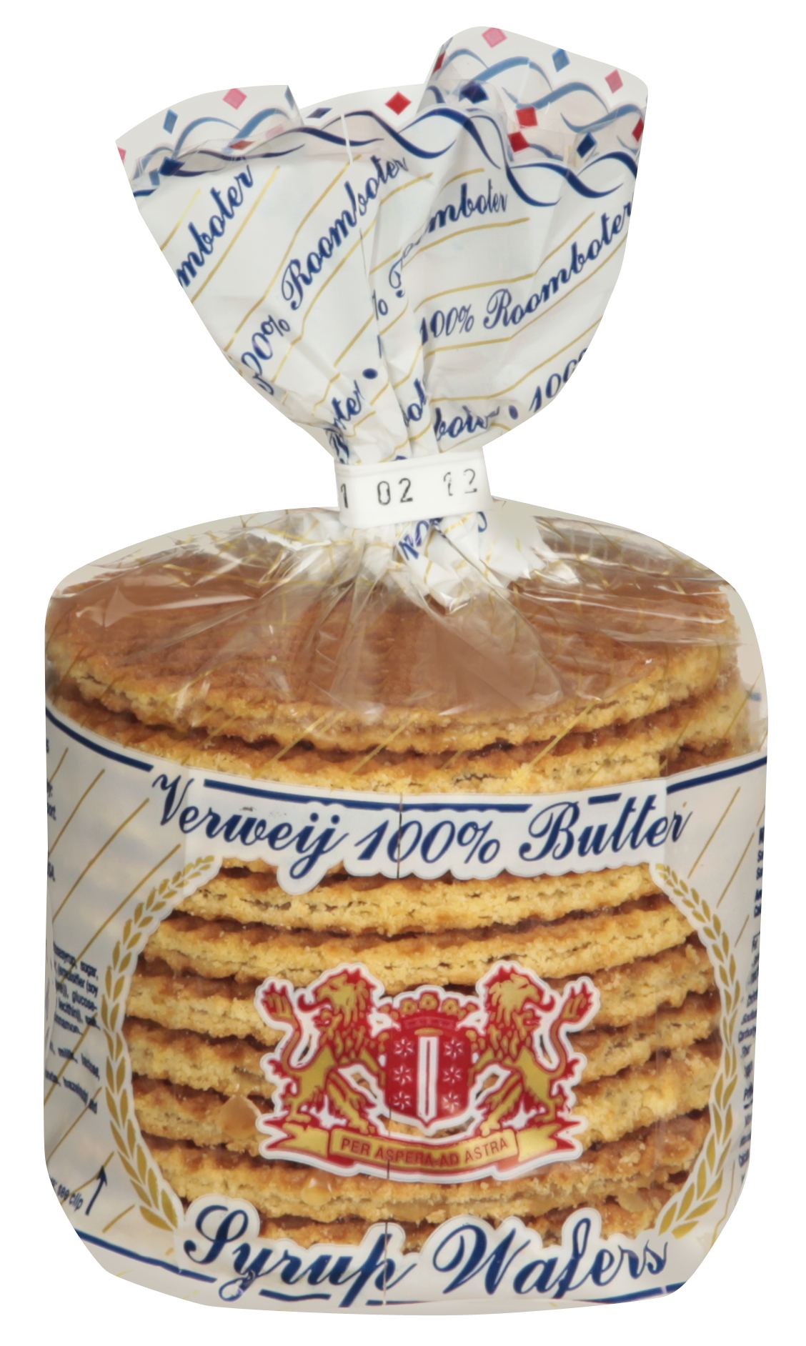 8ct Syrup Wafers 100% Butter