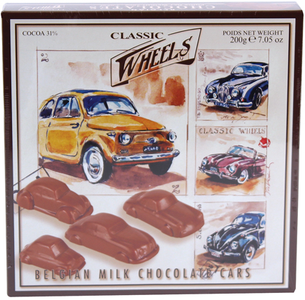 Starbrook Chocolate Praline Cars 7.05oz