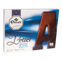 Large Milk Chocolate Letter - A