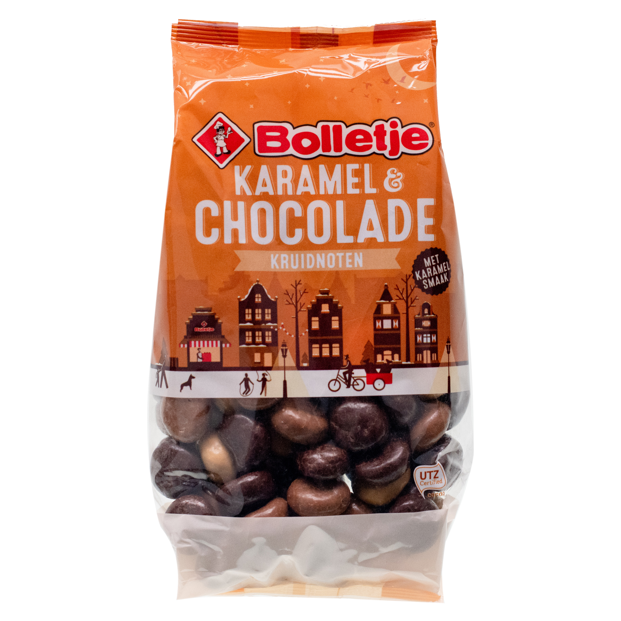 Bolletje Caramel & Chocolate Kruidnoten 10.5oz