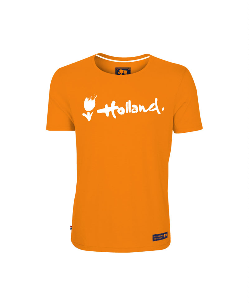 T-Shirt Holland Orange Mens- XXL